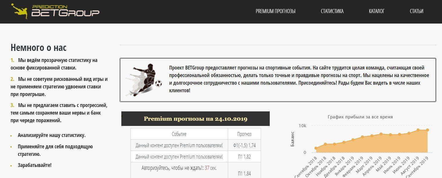 Отзывы о Betgroup.ru