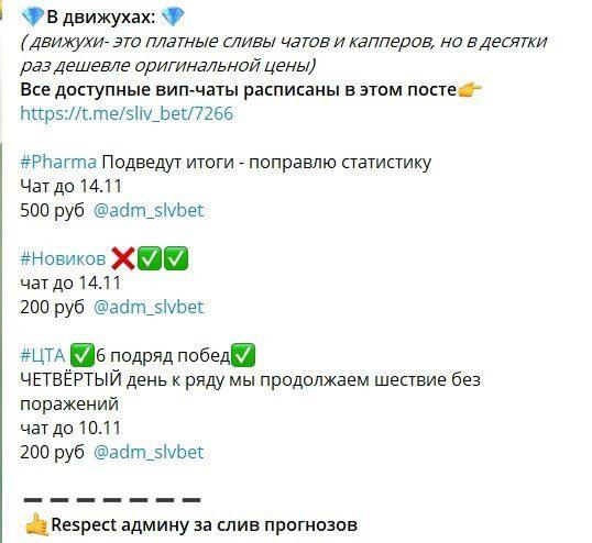 Цены за подписку на канал Грабим Капперов в Телеграме
