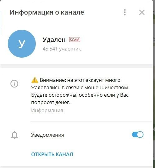 Отзывы о раскрутке в Телеграмме