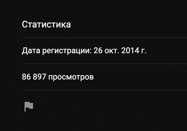Статистика ютуб канала проекта 13bet ru (13 бет)