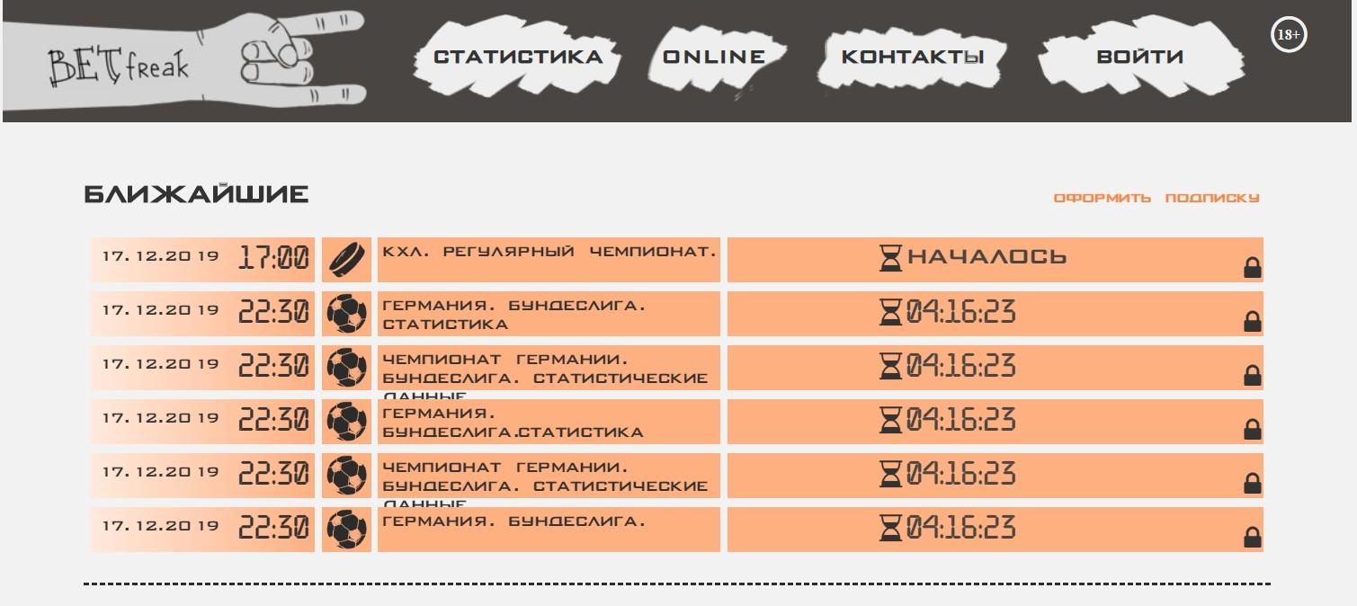 Отзывы о BetFreak.ru