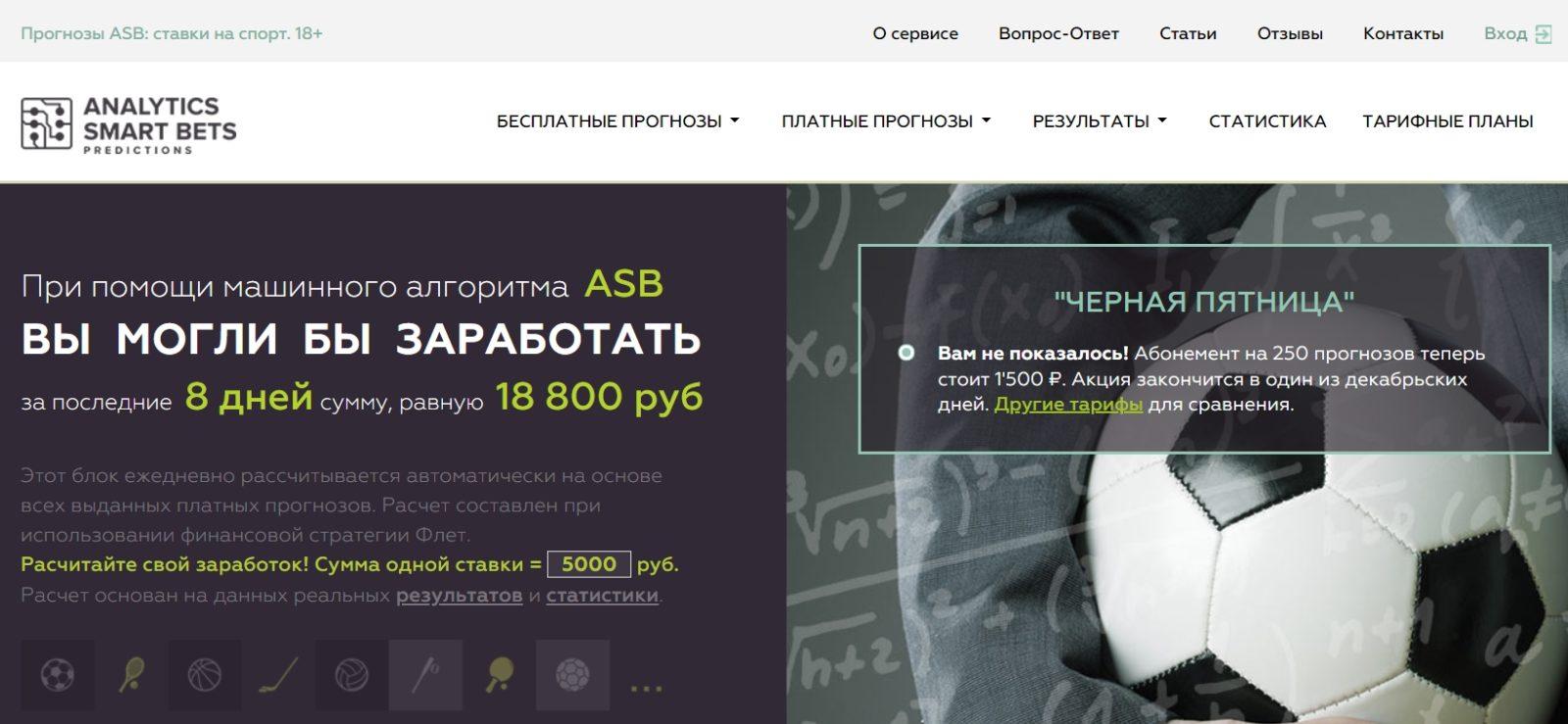 Отзывы о ставках от ASB Predictions (Gamblingsupport.ru)