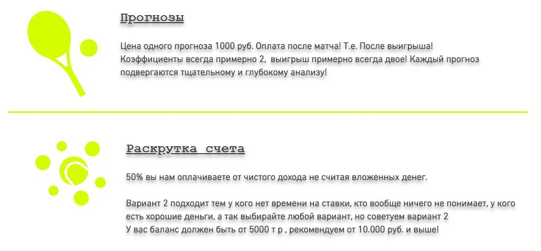 Ценовая политика сайта Алексея Воронкова www prognoz2015 com
