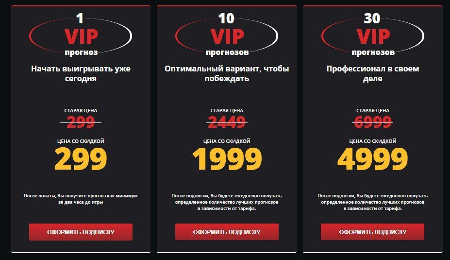 Цены за подписку на каппера PopanBet com (ПопанБет)
