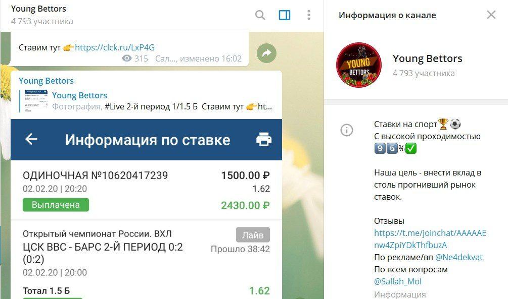 Отзывы о капере в Телеграмме