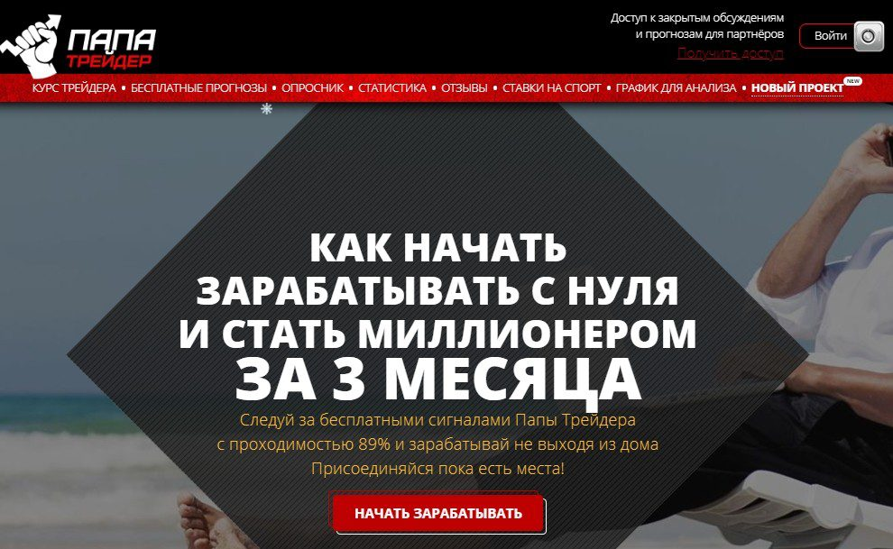 Отзывы о papa-trader.ru