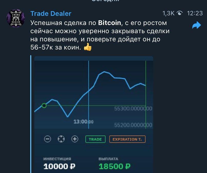 Прогнозы от каппера Trade Dealer