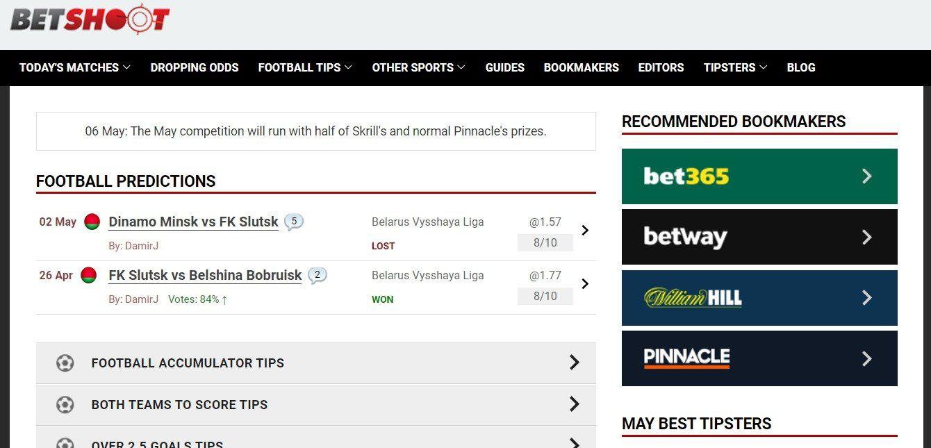 Отзывы о сайте Betshoot.com