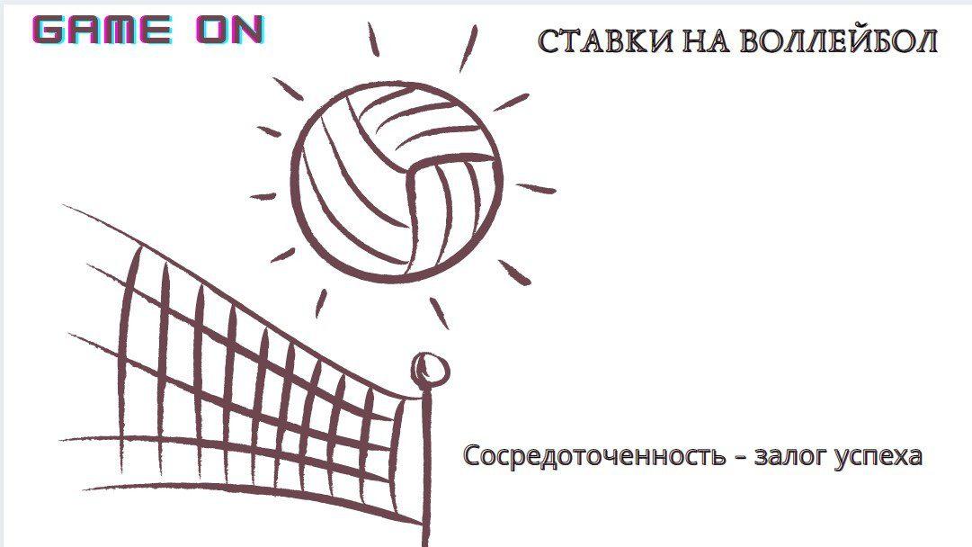 Ставки на волейбол залог успеха
